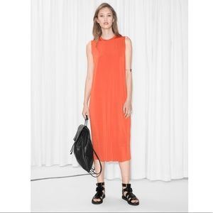 & Other Stories Cupro Dress